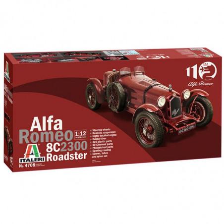 ALFA ROMEO 8C 2300 ROADSTER 1/12 ITALERI