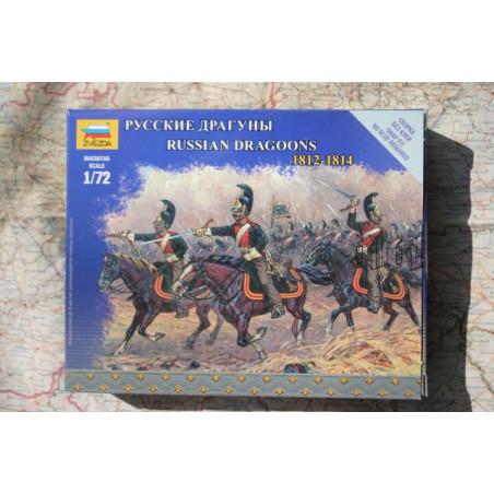 DRAGONS RUSSES  1812-1814 1/72 ZVESDA