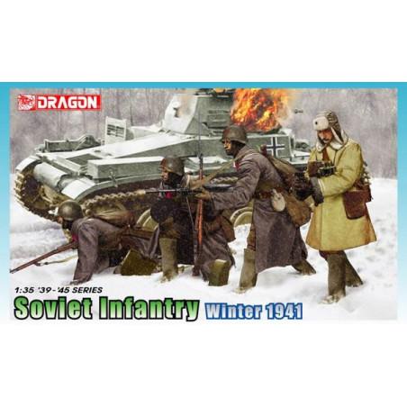 INFANTERIE SOVIETIQUE HIVER 1941 1/35 DRAGON