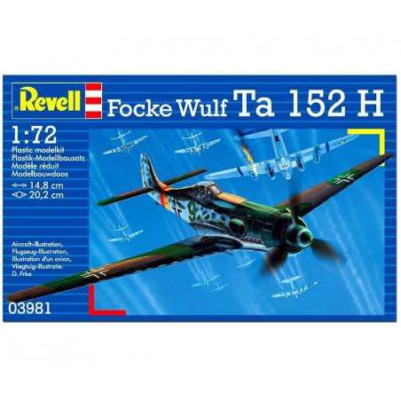 FOCKE WULF TA 152 H 1/72 REVELL