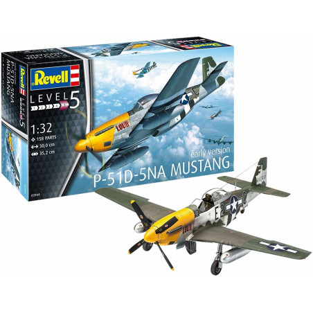 P-51D-5NA MUSTANG ( EARLY VERSION ) 1/32 REVELL