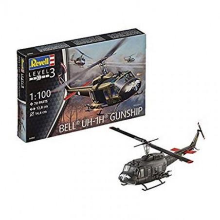 BELL UH-1H GUNSHIP 1/100 REVELL