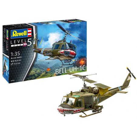 BEEL UH-1C 1/35 REVELL