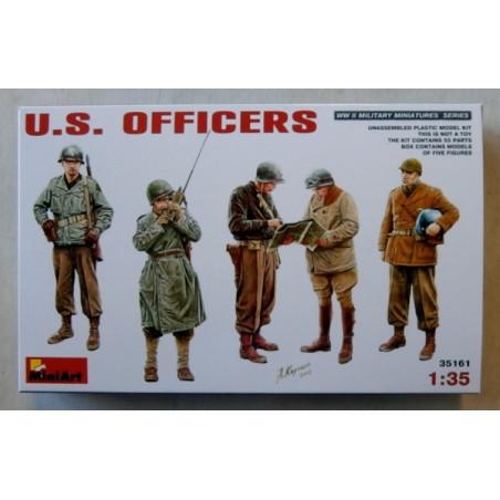 OFFICIERS US ARMY 1944-1945 1/35 MINI ART
