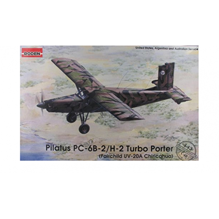 PILATUS PC-6B-2/H-2 TURBO PORTER 1/48 RODEN