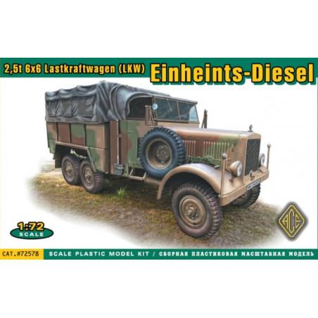 EINHEINTS-DIESEL 2.5T LKW 1/72 ACE