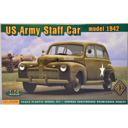 US ARMY STAFF CAR MODEL 1942 1/72 ACE