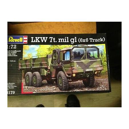 LKW 7T.MIL GL ( 6X6 TRUCK ) 1/72 REVELL