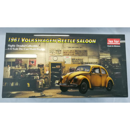 "VW COCCINELLE 1961 "" BUMBLEBE "" 2018 1/12 SUNSTAR 1"