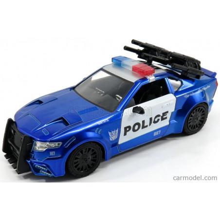 "FORD MUSTANG POLICE BARRICADE "" TRANSFORMERS "" 1/24 JADA"
