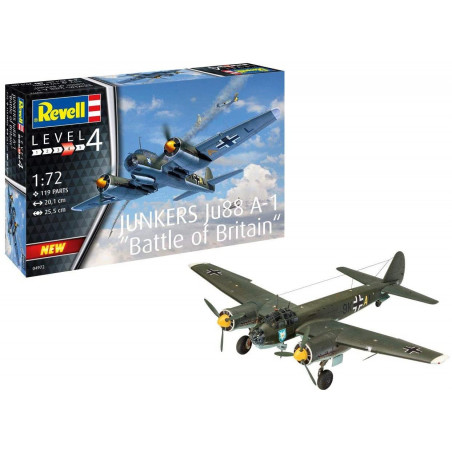 1/72 Revell Junkers Ju88 A-1 Battle of Britain
