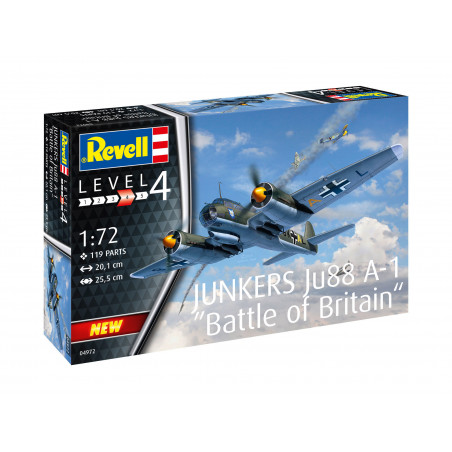 1/72 Revell Junkers Ju88 A-1 Battle of Britain 1