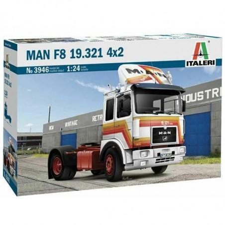 1/24 ITALERI MAN F8 19.321 4X2