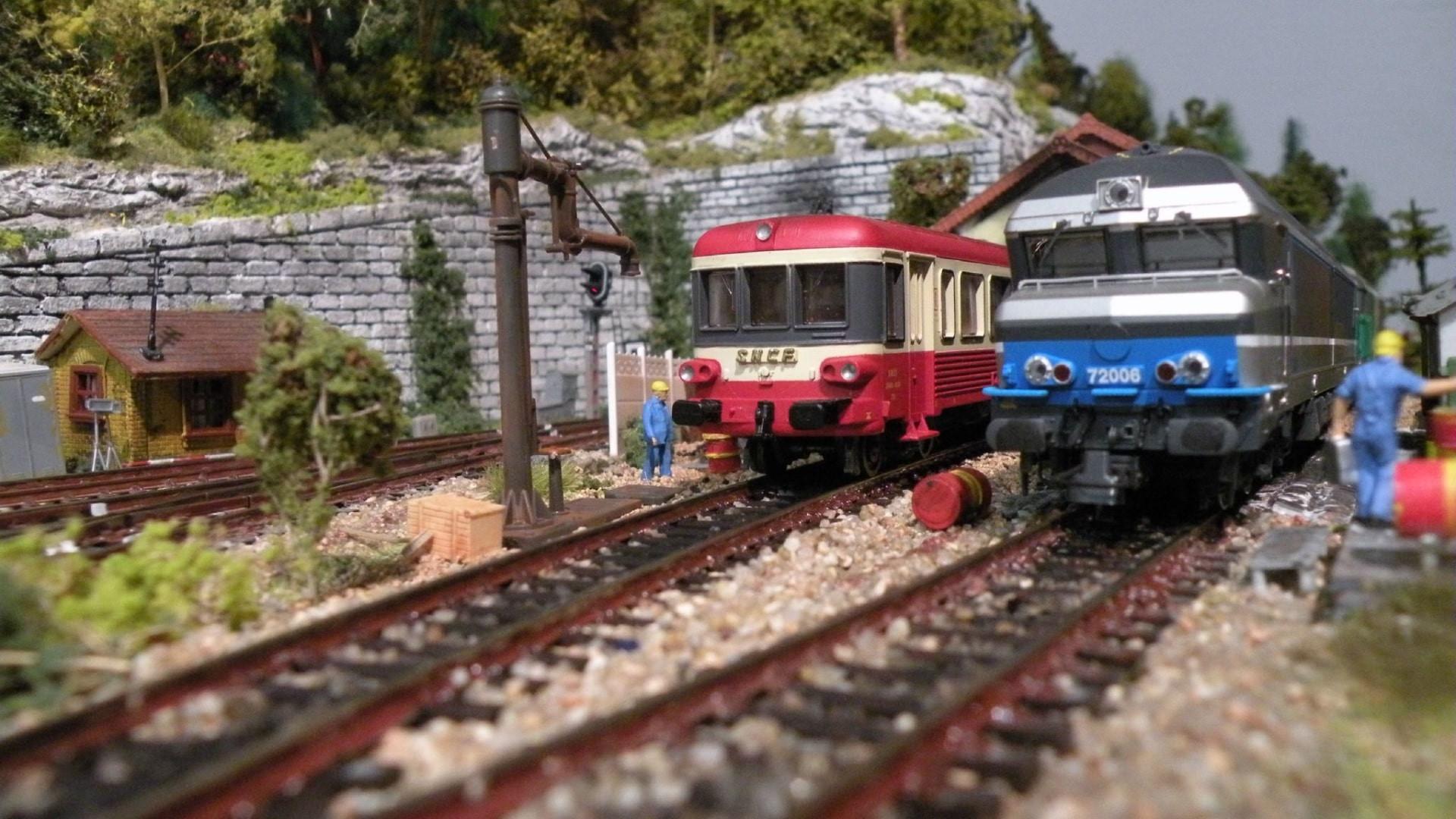Maquette train